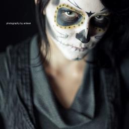 Amber – Sugar Skull   Toronto Portrait Photography