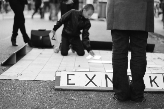 Scrabble - copyright Ardean Peters