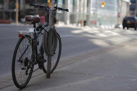 'Street bike' - Copyright Toronto Photographer Ardean Peters