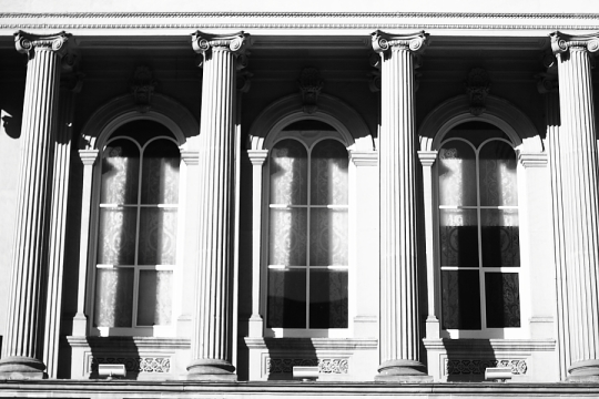 Columns - Copyright Toronto Photographer Ardean Peters
