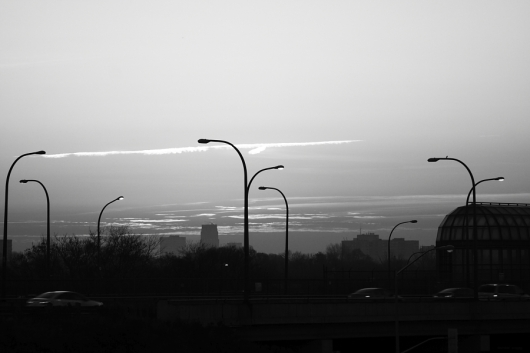 Black&WhiteSunrise - Copyright Toronto Photographer Ardean Peters