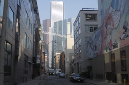 Pastel Alley - Copyright Toronto Photographer Ardean Peters