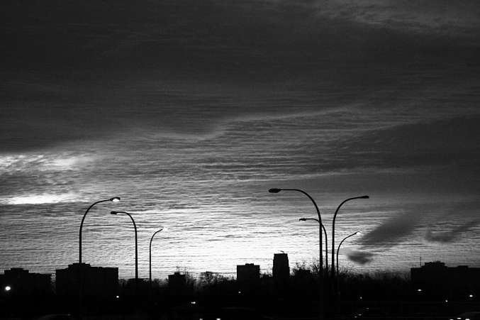 sunrise bw - Copyright Toronto Photographer Ardean Peters