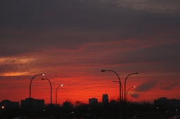 sunrise - Copyright Toronto Photographer Ardean Peters